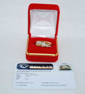 14KT Gold Men's Diamond Ring with Appraisal