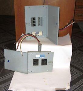 Panneaux Électriques / Electric Panels COMMANDER
