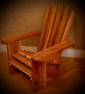 Childrens Cedar Adirondack Chair
