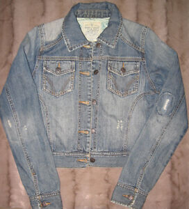 WOMEN'S ROXY DENIM JACKET, SIZE MEDIUM