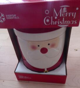 NEW in Box Santa cookie jar