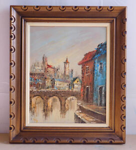 """Original oil painting by R.Frey, 20""""x16"""" canvas"""