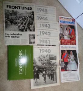 National Post Newspaper  Canadian Veterans  2nd World War ll