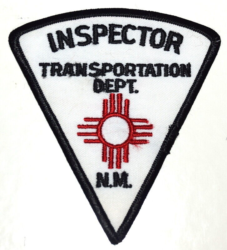 NEW MEXICO – TRANSPORTATION DEPT INSPECTOR – NM Sheriff Police Patch ~