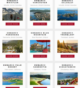 120 timeshare points - Embarc Resorts / Tremblant / Zihuatanejo