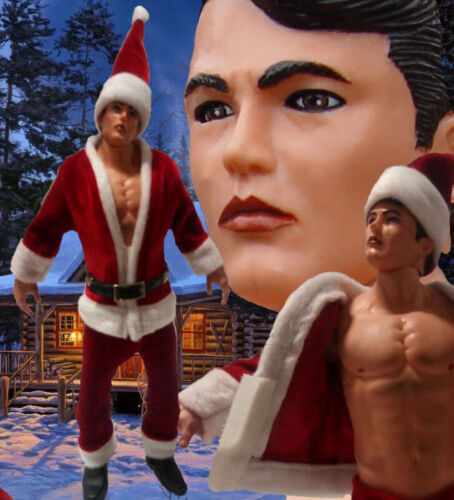 "12"" Jeff Stryker Santa Action Figure  NIB Buy from Jeff direct Limited Ed 70unit"