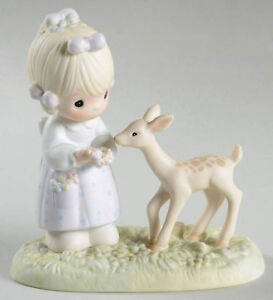 Precious Moments To My Deer Friend Porcelain Figurine, Collect