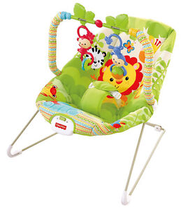 Fisher-Price Rainforest Friends Baby Bouncer - Used