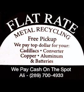 GET RID OF YOUR SCRAP- METAL RECYCLING - FREE PICKUP $$