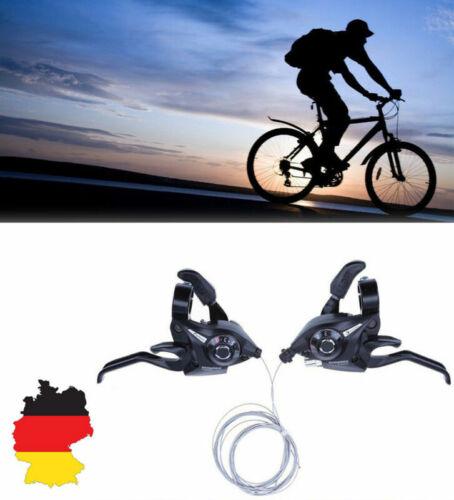 21 Gang MTB FAHRRAD  Derailleurs Bremse Gangschaltung Übertragung Fahrrad Hand