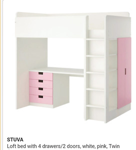 Excellent like New condition Ikea bunk bed