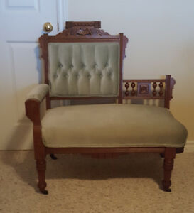 Eastlake Ladies Settee and Four Chairs