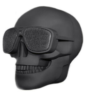 Skull Head Portable Bluetooth Bluetooth 8W Output Bass Stereo
