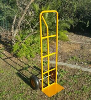 250kg P Handle Trolley Industrial Heavy Duty Up Right Truck Cart—