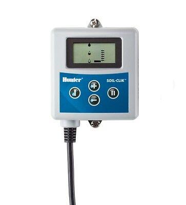 Hunter Soil-Clik Moisture Sensor, Module & Probe measures moisture and turns off