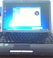 """Toshiba Satellite A305D 15.4"""" dual core laptop with webcam"""