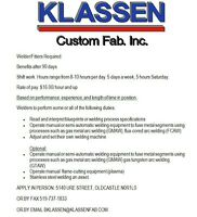Welders Wanted