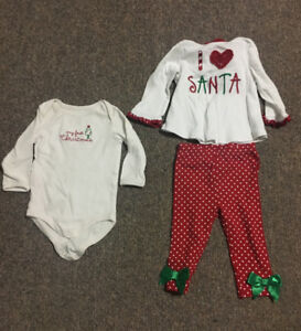 Infant Christmas Clothes (6-12 months)