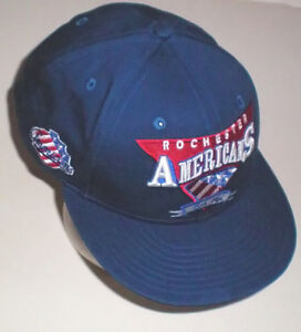 Rochester Americans New Era 9Fifty AHL Hockey Med to Lrg Cap London Ontario image 1