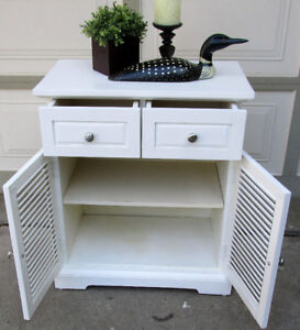PIER 1 PLANTATION STORAGE CABINET/TABLE - IKEA FILING CABINET