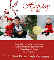 Holiday Mini Session - West Island, Montreal