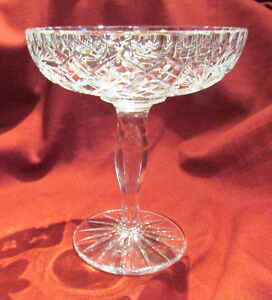 Vintage Cut Crystal Glass Pedestal Compote/Candy Dish Kitchener / Waterloo Kitchener Area image 2