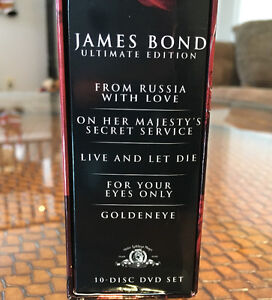James Bond DVD Ultimate Edition Box Sets Peterborough Peterborough Area image 5