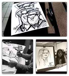 the  portrait art and caricature show