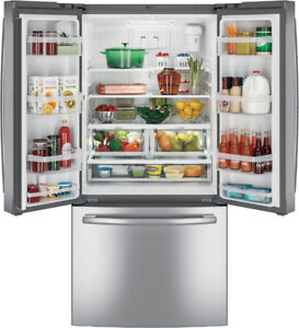 GE GNE25DSKSS french door fridge special offer only this weekend
