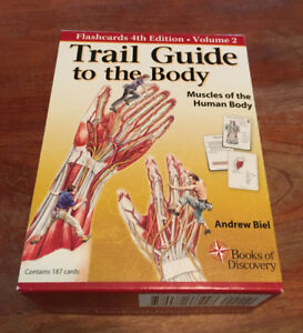 Trail guide to the body flashcards, 4th edition Vol. 2 muscles