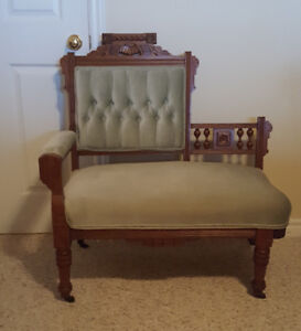 Charles Eastlake Furniture - Settee and Four Chairs