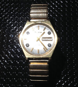 Bulova N2 Automatic gold watch