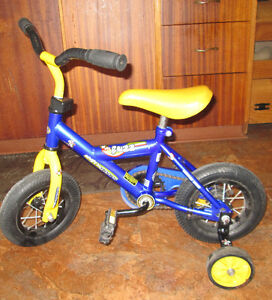 Little Boys Bicycle with Training Wheels
