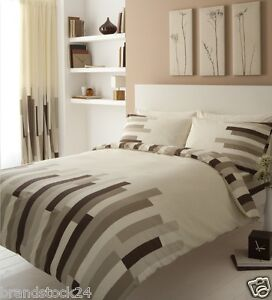 Blocks Duvet Cover Set With Matching Curtains And Fitted Sheet Double King