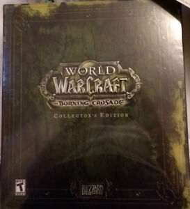 UNOPENED WORLD OF WARCRAFT BURNING CRUSADE COLLECTORS EDITION