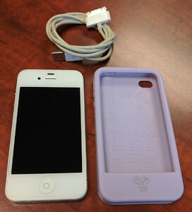 iPhone 4 in excellent shape with case.