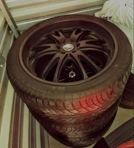 Boss 313 24 inch wheels