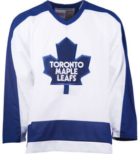 Toronto Maple Leafs White 1978 CCM Jersey Small