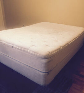 Queen Size bed - pillow top, very comfortable