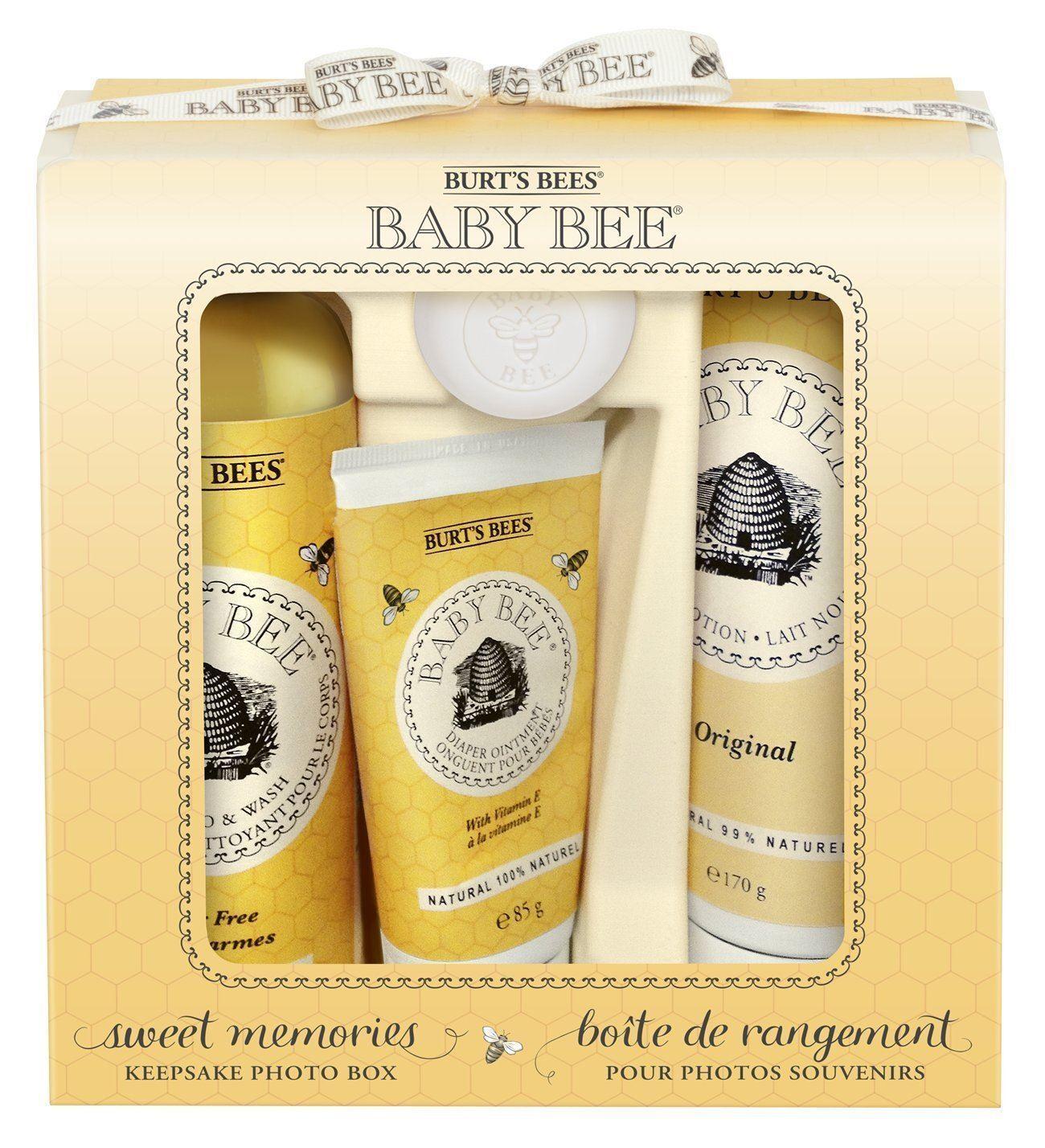 Burt s Bees Baby Bee Sweet Memories foto de recuerdo de regalo conjunto con caja