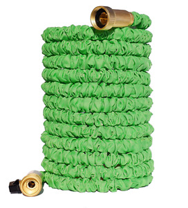 NEW Expandable Garden Hose w/ Brass Connectors 100-feet