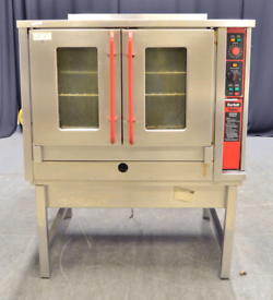 Bartlett Sabre Gas Convection Oven on Stainless Steel Unit- L1150 x W9