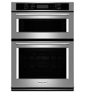 OVEN BRANDNEW!! WALLOVEN WITH MICROWAVE (KITCHENAID)