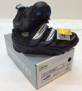 Shimano SH-WM51 Women's Mountain Bike Shoes NEW IN BOX $75......