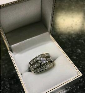 3 Set engagement rings
