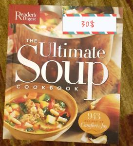 SOUP COOKBOOK 30$