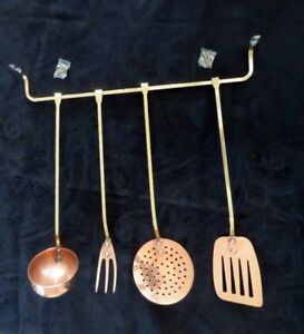 Ensemble d'ustensiles de cuisine en cuivre Copper Kitchen Tools
