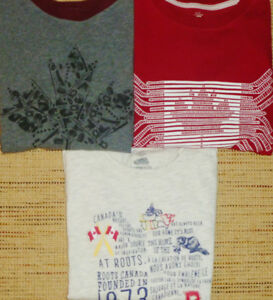 Boys Size 7/8 - Roots Lot of Long Sleeve Tops (New & Like-New)