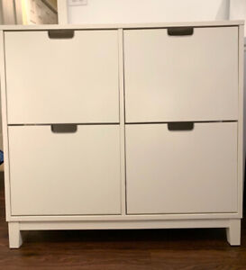 Armoire Range Chaussures 4 Casiers Ikea