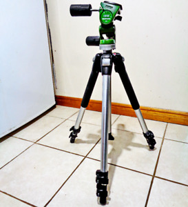 Manfrotto 190CL Tripod with Manfrotto 141RCNAT 3-way Head